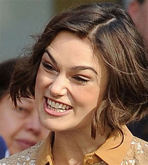 Keira Knightley Refuses To Smile by Keira Knightley Apologized To Hathaway For A Of