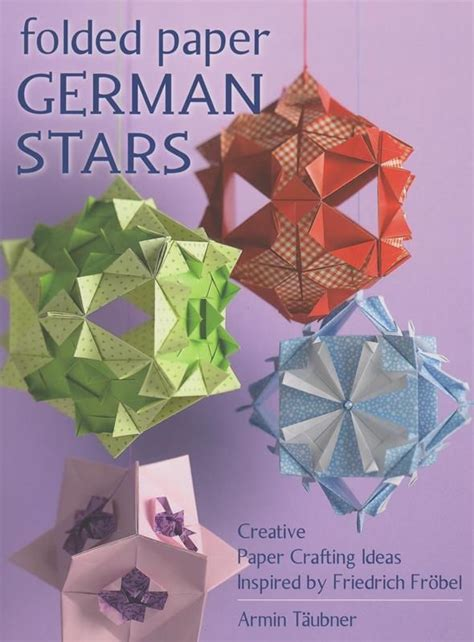 Creative Paper Crafting - folded paper german creative paper crafting ideas