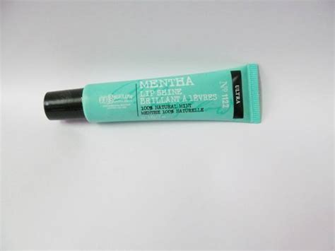 Review Co Bigelow Ultra Mentha Lip Shine by C O Bigelow Ultra Mentha Lip Shine