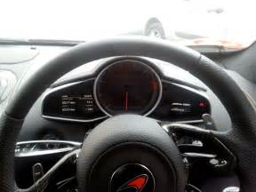 Steering Wheels For Mac Finally I Get A Go In The Mclaren In The Metal