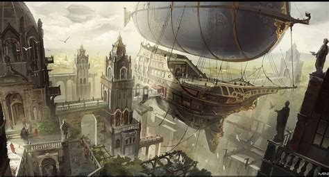Imperial Home Decor Group Airship City By Min Nguen On Deviantart
