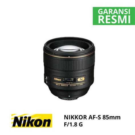 Nikon Lensa Af S 85mm F 1 8g nikon af s nikkor 85mm f 1 8g harga dan spesifikasi