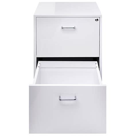 small white gloss filing cabinet john lewis lloyd 2 drawer filing cabinet in white gloss