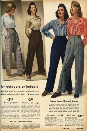 62 best vintage ladies pants images on pinterest fashion vintage wide leg pants 1920s 1950s best 1940s wide legs