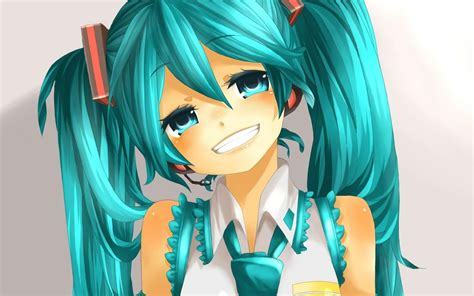 wallpaper animasi imut gambar kartun gadis tersenyum wallpaper hd terbaru