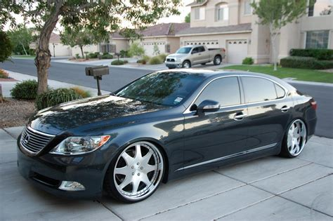 lexus ls custom ls 460 600 wheel tire information details thread page