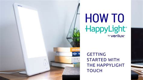 happylight touch led light therapy l how to use the happylight touch led light therapy l