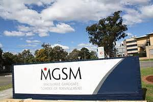Is Mgsm Mba by Macquarie Graduate School Of Management