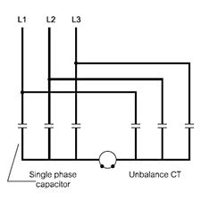 capacitor bank connected in delta capacitor bank wiring modes alpes technologies