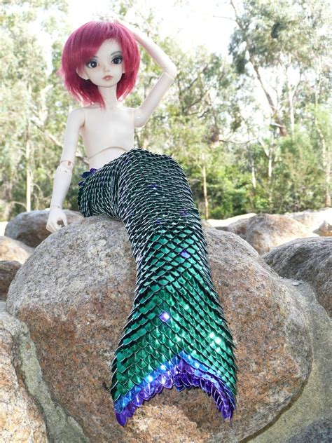 42 cm jointed doll mermaid for 42cm msd joint doll dolls and pets