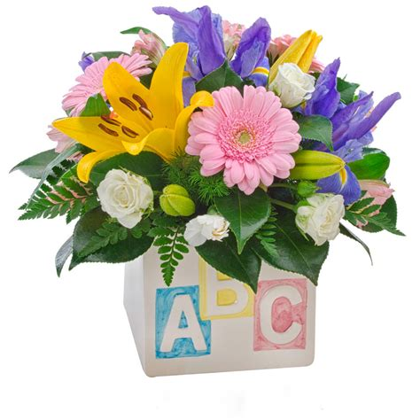 New Baby Flowers by Hospital Florist Get Well Soon Flowers Hospital Flowers