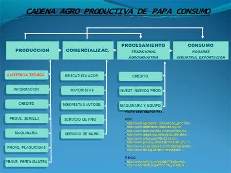 cadena productiva agroindustrial cadenas productivas monografias