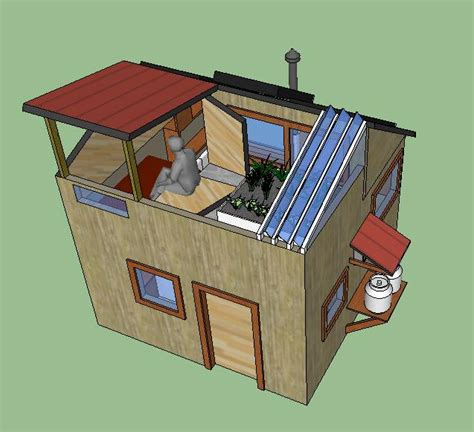 Tiny Home Hvac Systems Jonathan Marcoux Squared Eco House Simple Solar Homesteading