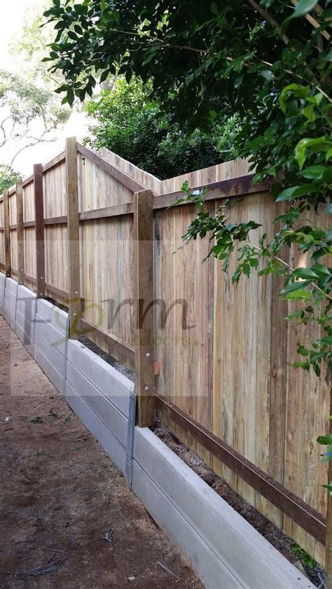 25 best ideas about concrete sleeper retaining walls on