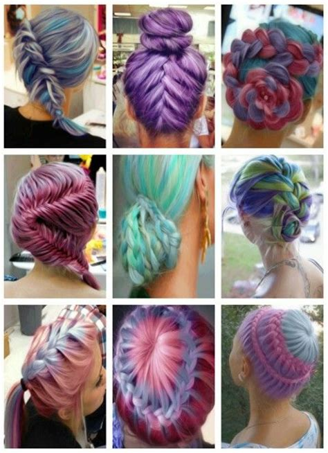 cool hairstyles and colours 17 best images about unique hairstyles on pinterest