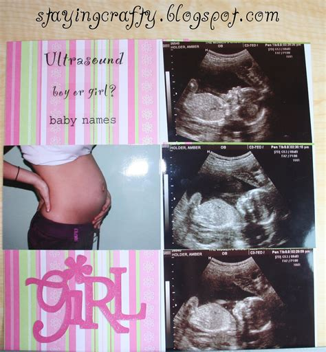 baby book for ultrasound pictures staying crafty ultrasound scrapbook page