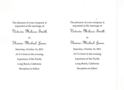 How To Print Wedding Invitations In Word