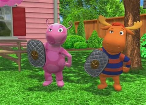 Backyardigans We Re Knights We Re Knights That S Right The Backyardigans Wiki