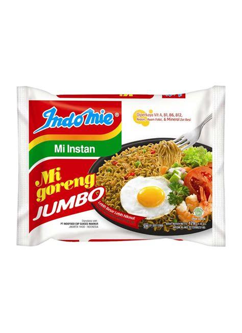 Indomie Goreng Jumbo indomie mie goreng jumbo special pck 129g klikindomaret