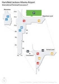 Atlanta Hartsfield Map by Atlanta Airport Atl Guide Fly To Atlanta With Flight
