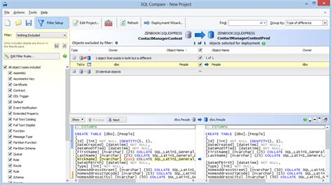 sql script to compare data in two tables what is best tool to compare two sql server databases