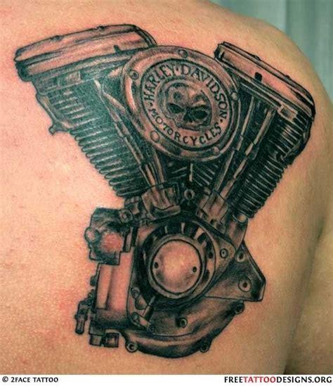 hd engine tattoo no 6 harley davidson v twin engine tattoo tattoos