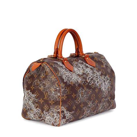 Louis Vuitton Limited Edition 50113 louis vuitton silver monogram dentelle speedy 30 limited edition luxity