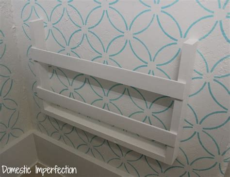 diy magazine holder for bathroom 5 built in magazine rack domestic imperfection
