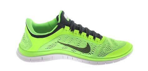 neon green sneakers neon green black nike free mens 3 0 v5 fitness