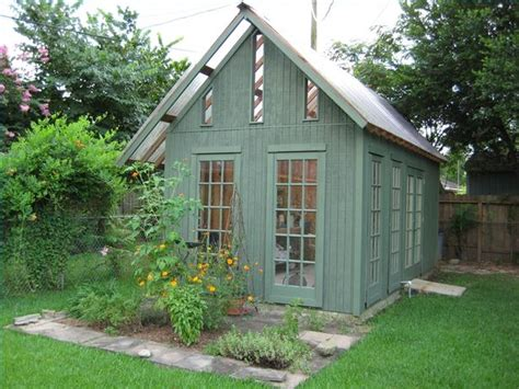 Garden Greenhouse Shed by Go Green With A Garden Shed Greenhouse Shed Building
