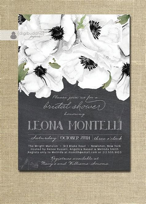 bridal shower invitations same day shipping 17 best images about black and white theme on