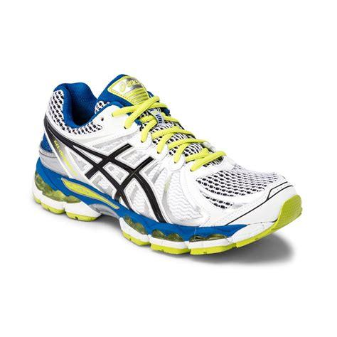 asics gel nimbus 15 mens running shoes asics gel nimbus 15 mens running shoes white blue