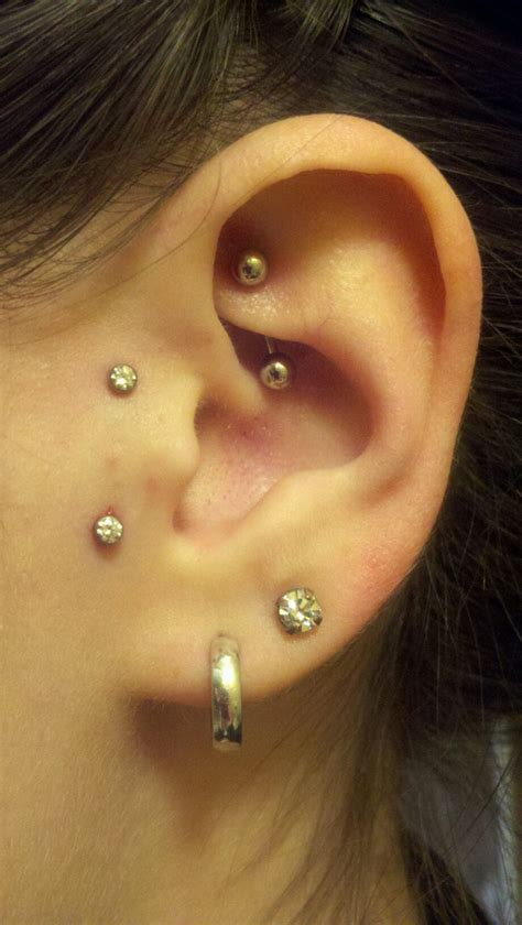 best tragus piercing jewelry 17 best ideas about vertical tragus on