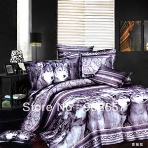 get cheap wolf print bedding aliexpress