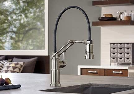 articulating kitchen faucet 2018 brizo 63225lf pc artesso single handle articulating arm kitchen faucet brizo 63225lf pn artesso