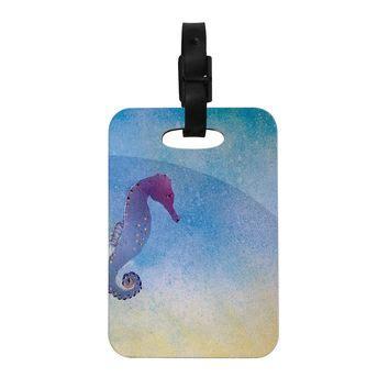 spray painting luggage shop seahorse decor on wanelo
