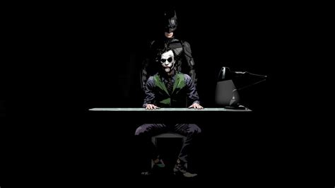 wallpaper of batman dark knight batman and joker the dark knight wallpaper 5884