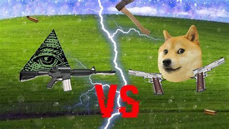 illuminati  doge meme wars mlg youtube
