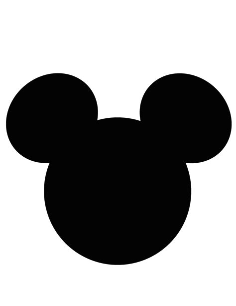 mickey ears template online calendar templates