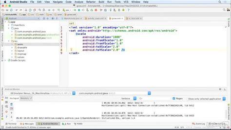 xml tutorial unity define view animations with xml