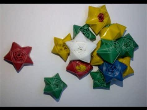 tutorial cara membuat bintang dari origami tutorial hiasan jendela dengan kertas origami doovi