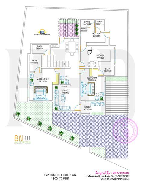 5 Bedroom Modern Home In 3440 Sq Floor 5 Bedroom Modern Home In 3440 Sq Floor Plan Included Kerala Home Design And Floor Plans