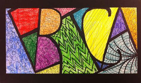 pattern name art angela anderson art blog name zentangles kid s art class