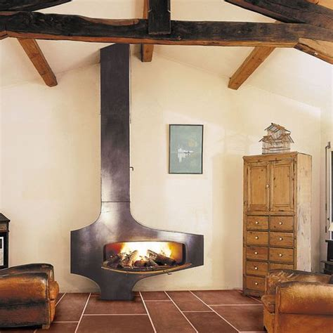 metal wood burning fireplace 3 cool types of fireplaces and 25 exles digsdigs