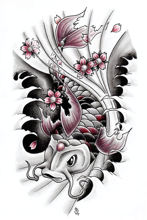 koi fish 3 by hamdoggz on deviantart