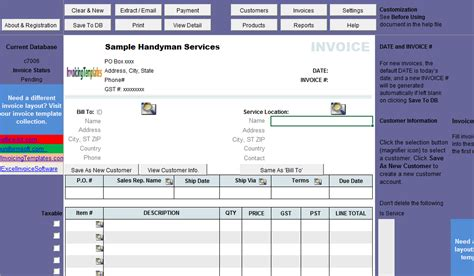 download handyman invoice template free rabitah net
