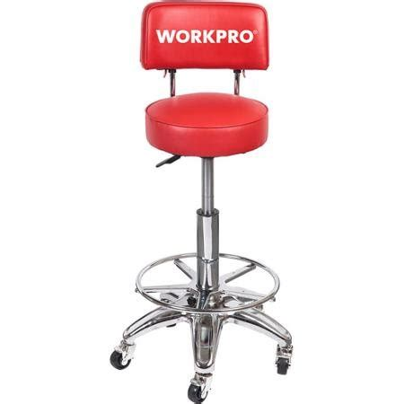 Work Stools With Back Support by Work Pro Heavy Duty Adjustable Hydraulic Stool Mechanic