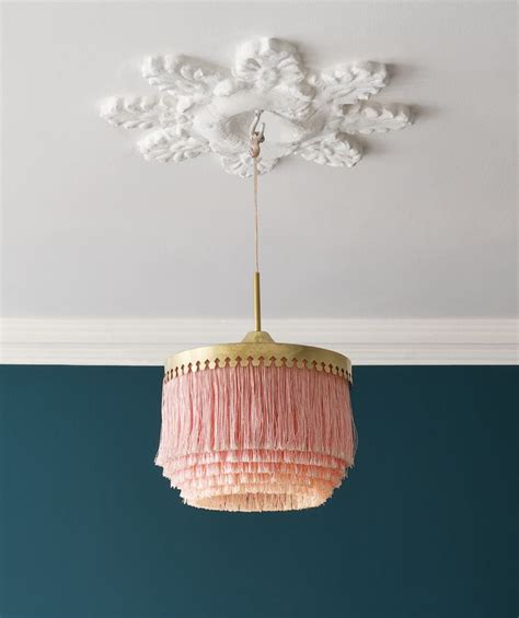 Ceiling Light Shade Diy Best 25 Lshades Ideas On Pinterest Retro Home Decorating Lshades And L Shade Makeover