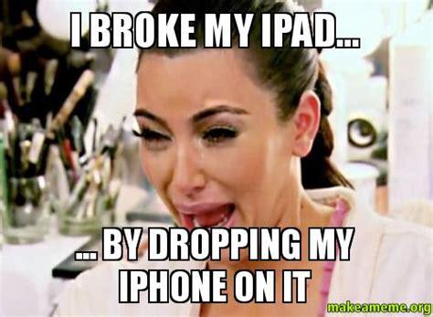 Broken Iphone Meme - broken iphone meme memes