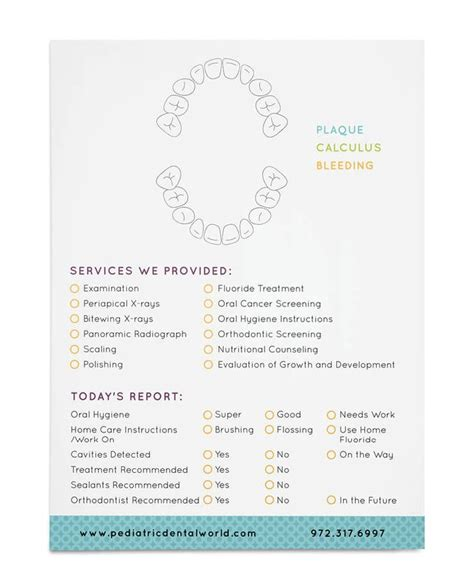 brand report card template 196 best images about dental cuties on